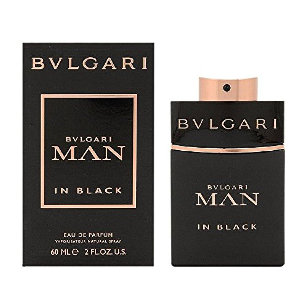 愛する興奮する事前にブルガリ BVLGARI  ブルガリ マン イン ブラック EP SP 60ml