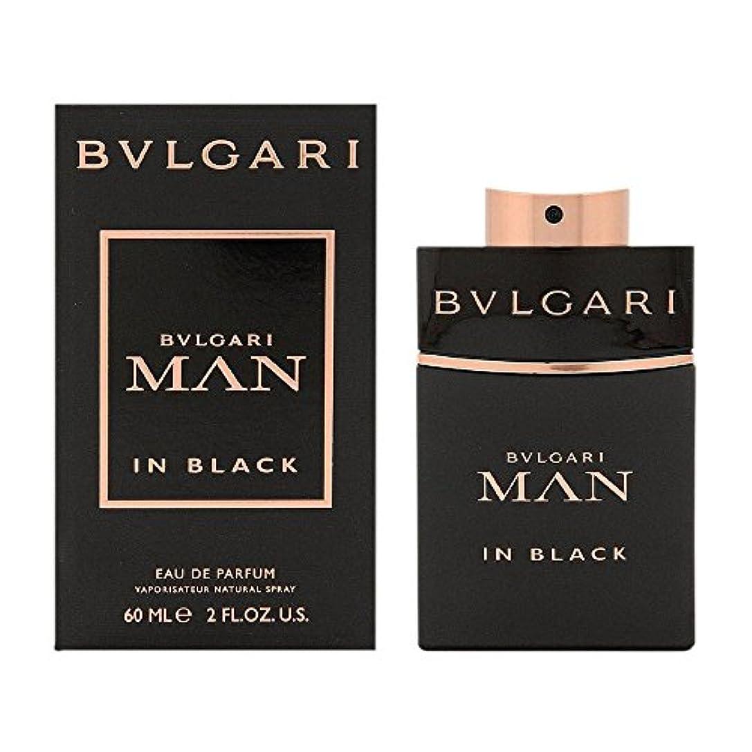 指報復保存ブルガリ BVLGARI  ブルガリ マン イン ブラック EP SP 60ml