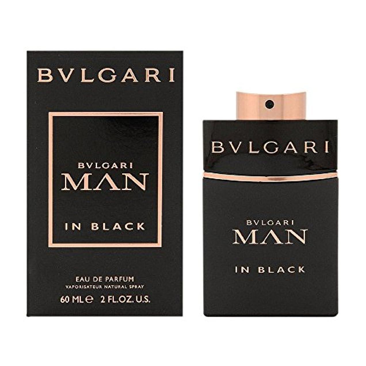 ナイロン仮定する団結するブルガリ BVLGARI  ブルガリ マン イン ブラック EP SP 60ml