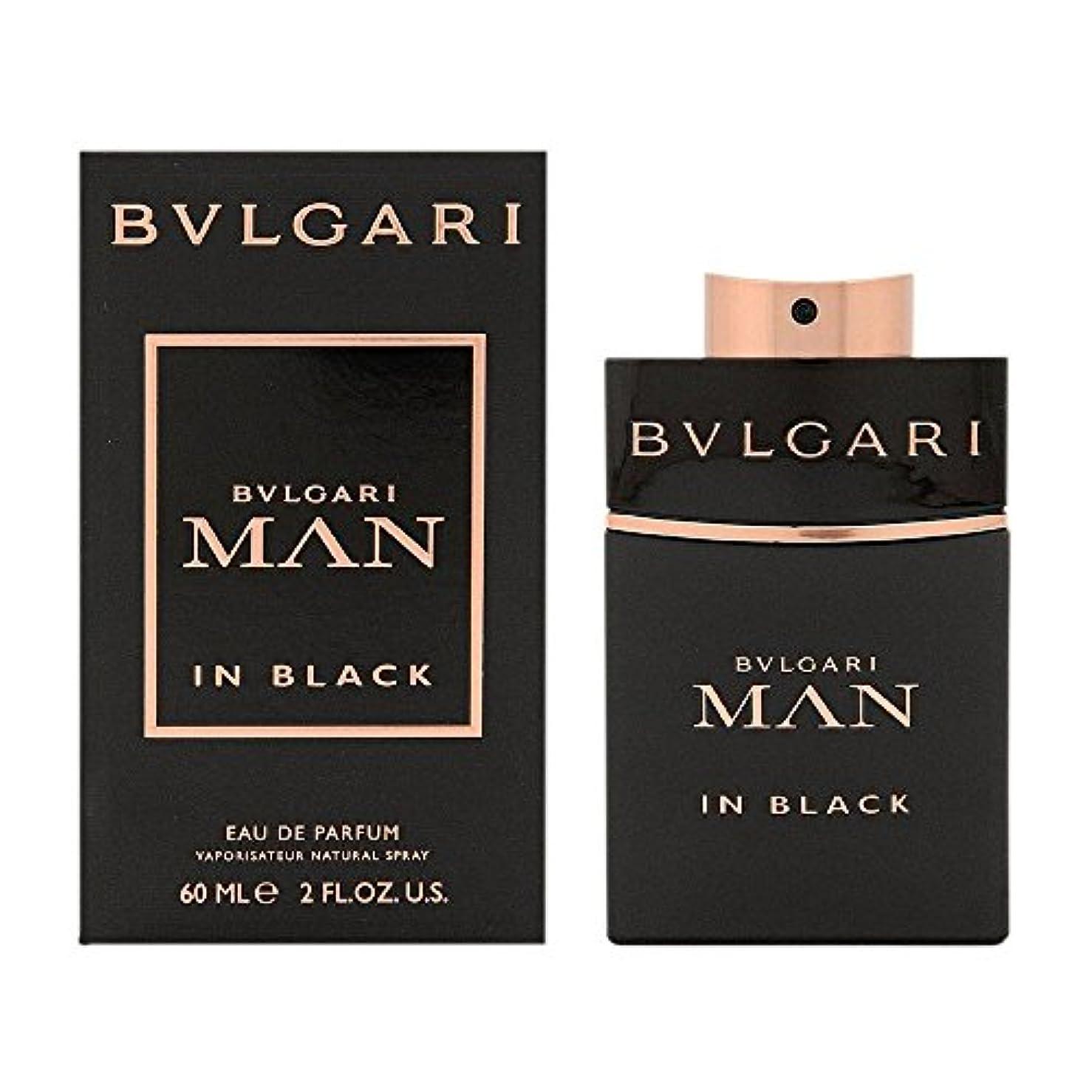 評論家テレビ局いくつかのブルガリ BVLGARI  ブルガリ マン イン ブラック EP SP 60ml