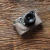 cam-in (カムイン) カメラケース ライカ LEICA M、M-P (Typ 240)用 イタリアンレザー (CA025シリーズ(ライトグレー))