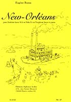 ボザ : ニュー・オリンズ (バストロンボーン(もしくはテューバ、もしくはバリトンサクソフォン)、ピアノ) ルデュック出版