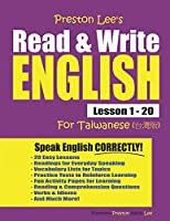 Preston Lee's Read & Write English Lesson 1 - 20 For Taiwanese