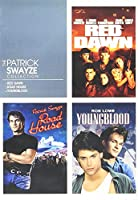 THE PATRICK SWAYZE COLLECTION - RED DAWN / ROAD HOUSE /YOUNGBLOOD
