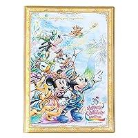 ディズニー リゾート 35周年 Happiest Celebration ! グランド フィナーレ ダブルポケットホルダー A4 ミッキー ミニー リゾート限定