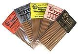 Kuumba Incense クンバインセンス mini size ミニサイズ セレブリティシリーズ5個セット マイケルジャクソン マルコムエックス ボブマーリー パリスヒルトン ホイットニーヒューストン