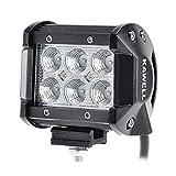 KAWELL 高輝度18W CREE製 広角タイプ LED 作業灯 1260LM 6000K