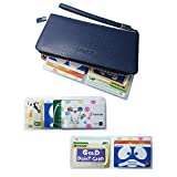 カードケース インナーカードケース 【\3種類セット!/いろんな財布に対応可能】 薄型 ウォレットイン [Aタイプ 最大10枚][Bタイプ 最大12枚][Cタイプ 最大2枚]半透明 防水 カード入れ
