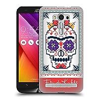 Official Frida Kahlo シュガー・スカル コヨアカン・パターン ハードバックケース Zenfone 2 Laser ZE550KL