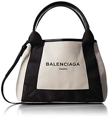 [バレンシアガ] BALENCIAGA レディース NAVY CABAS XS トートバッグ【並行輸入品】 390346AQ38N 1081 (ブラック)