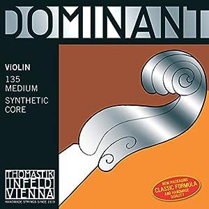 Dominant ドミナント バイオリン バラ弦 E130MS スチール/アルミ巻(ループエンド)