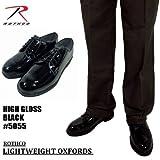 ROTHCO【ロスコ】エナメルワークシューズ黒#5055/BlackLightweightOxfordsHighGlossブラックライトウェイトオクスフォードハイグロス (28cm)