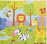 木製のカラフルなペグパズル教育パズルのおもちゃ ブランドの新しい木製の教育的なパズルアーリーラーニングの形の色の動物のおもちゃ子供(動物園)のための素晴らしいギフト