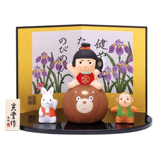 端午の節句 錦彩 金太郎飾り 5713