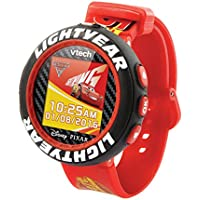 Cars 3 507203 Lightning McQueen Camera Watch, Red/Black