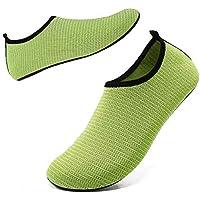 SOVIKER Mens Womens Outdoor Water Shoes Barefoot Quick-Dry Slip-on Aqua Socks for Beach Swim Surf Yoga Exercise