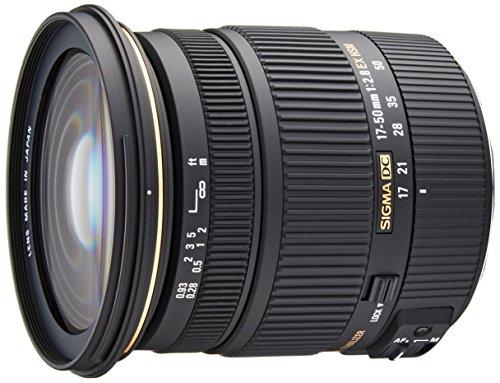SIGMA 標準ズームレンズ 17-50mm F2.8 EX DC OS HSM キヤノン用 APS-C専用 583545のサムネイル画像