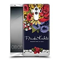 Official Frida Kahlo ブルーム レッド・フローラル ハードバックケース Huawei Mate 9