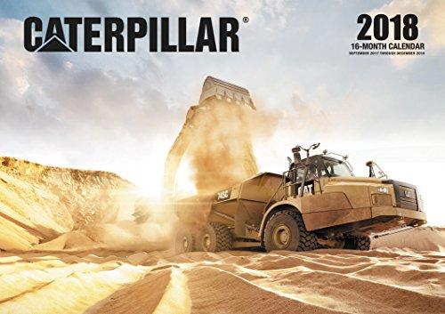 Caterpillar 2018: 16 Month Calendar Includes September 2017 Through December 2018 (Calendars 2018)