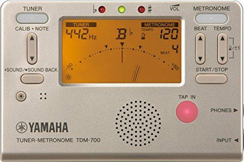 ヤマハ チューナーメトロノーム TDM-700G