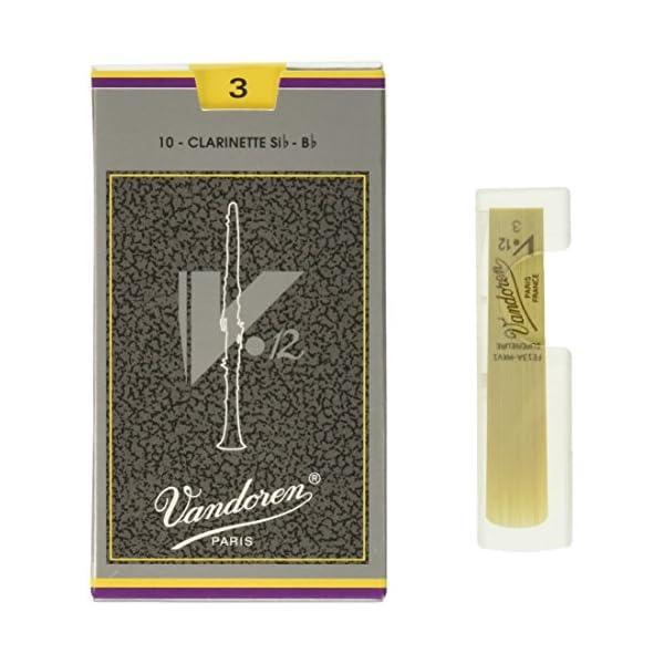 バンドーレン B♭クラリネットリード V.12 ...の商品画像