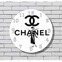 Chanel 11'' 壁時計シャネル あなたの友人のための最高の贈り物。あなたの家のためのオリジナルデザイン