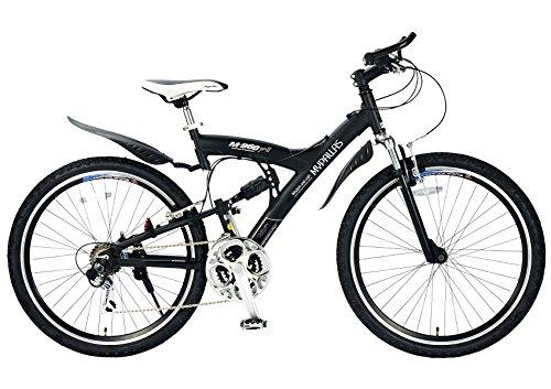 My Pallas(マイパラス) マウンテンバイク MTB M-960 type2 26インチ 18段変速 Wサスペンション アルミフレーム ブラック