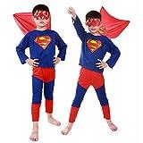 MyMei スーパーマン 子供衣装 キッズコスチューム コスプレ 仮装 ハロウィン パーティ イベント なりきり superman 変身  (S)