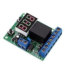 多機能リレー制御モジュール plc計数サイクル タイマー制御モジュール 12 ボルト dc リレー遅延時間スイッチ電圧検出