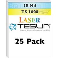 レーザーTeslin合成紙 25 Pack
