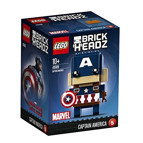 レゴ(LEGO)ブリックヘッズ キャプテン・アメリカ 41589