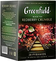 Greenfield tea Pyramid collection (Redberry Crumble)