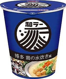 サッポロ一番 和ラー 博多 鶏の水炊き風 75g×12個
