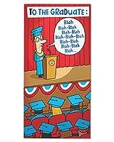 American Greetings Blah Blah Blah卒業カードwith Foil