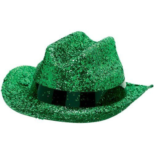 MINI COWBOY HAT GREEN 1 COUNT おもちゃ [並行輸入品]