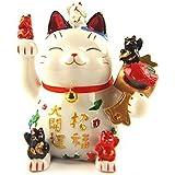 Feng Shui Maneki Neko Lucky Cat Coin Bank