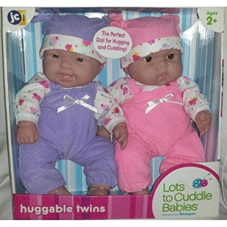 おもちゃ JC Toys Lots to Cuddle Babies 12-Inch Baby Soft Doll ドール Soft Body Girl Twins Designed by Berenguer [並行輸入品]