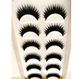 Big Sale 。False Eyelashes、beautyvanファッション6ペア手作り天然False Eyelashes