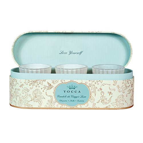 トッカ(TOCCA) ミニキャンデリーナトリオ (クレオパトラ、ステラ、ジュリエッタの香り) 57g×3個