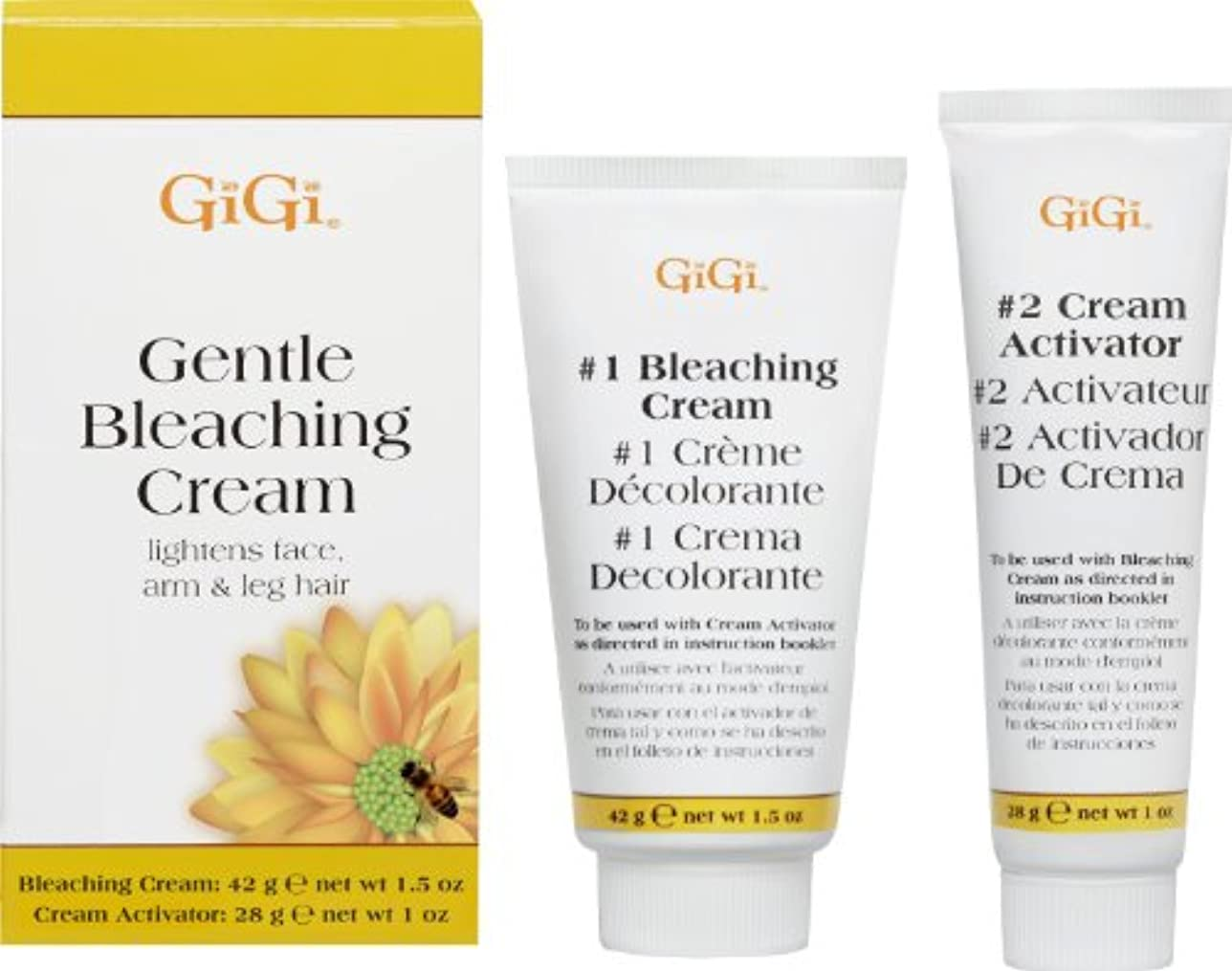 ペチコートヘリコプターまたGiGi Gentle Bleaching Cream  (並行輸入品)