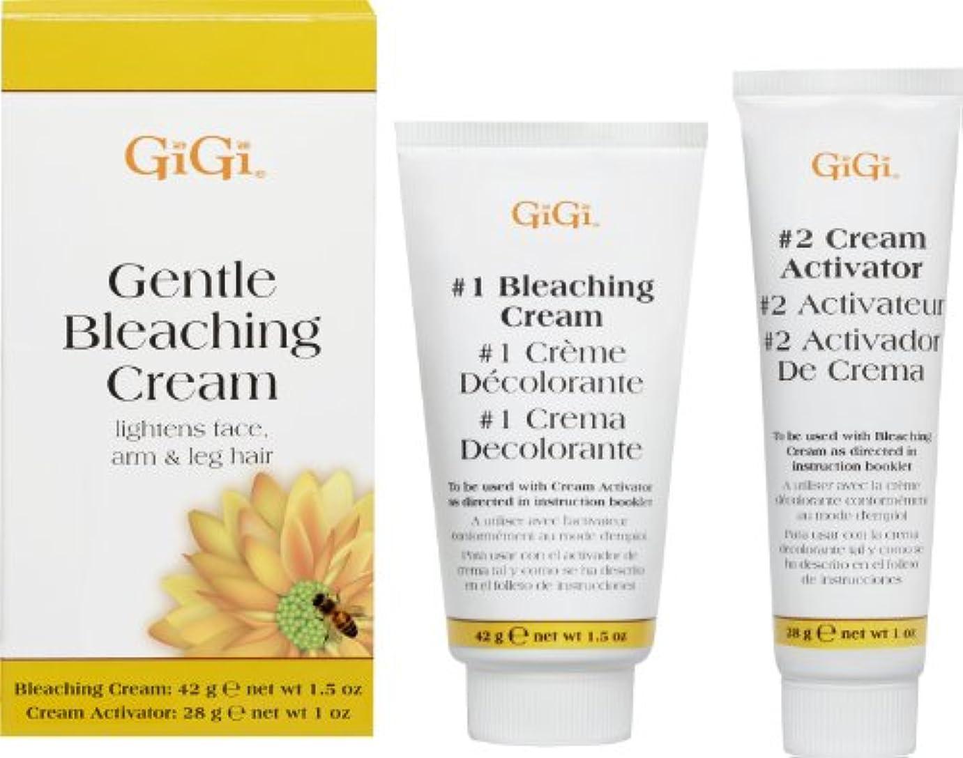 ヒント動機付ける繊維GiGi Gentle Bleaching Cream  (並行輸入品)