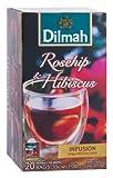 Dilmah(ディルマ) ハーブ ローズヒップ&ハイビスカス 1.5g×20P