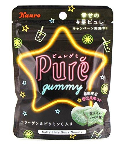 ピュレグミ 塩ライムソーダ 6袋
