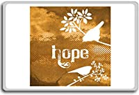 Warm Hope - Motivational Quotes Fridge Magnet - ?????????