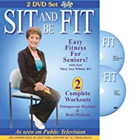 Sit & Be Fit: Osteoporosis & Brain Workouts [DVD] [Import]