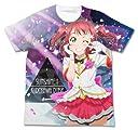 ラブライブ サンシャイン 黒澤ルビィ フルグラフィックTシャツ MIRAI TICKET Ver. ホワイト Mサイズ