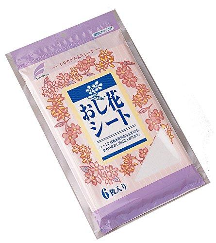シリカゲル入り おし花シート (6枚入)...