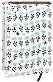 宮本 ブックカバー 『レトロ小紋てぬぐいのブックカバー』 30×16cm 小鳥のデザート 07484 30×16cm
