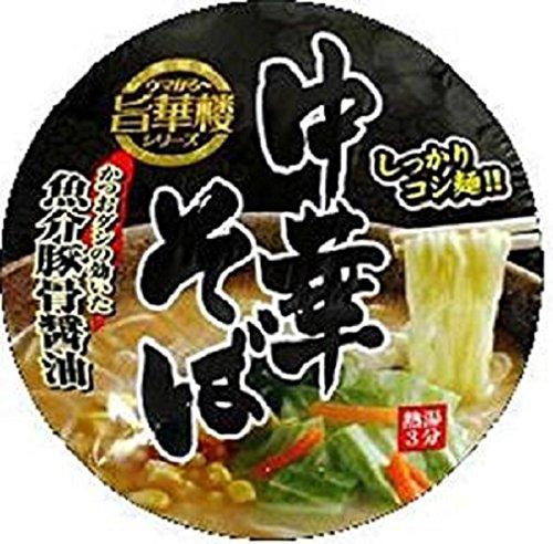 旨華楼 中華そば 魚介豚骨醤油 77g