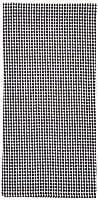 (Black/White) - Dunroven House Mini Cheque Tea Towel, Black/White